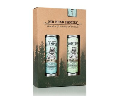 Mr. Bear Family Shampoo&Conditioner
